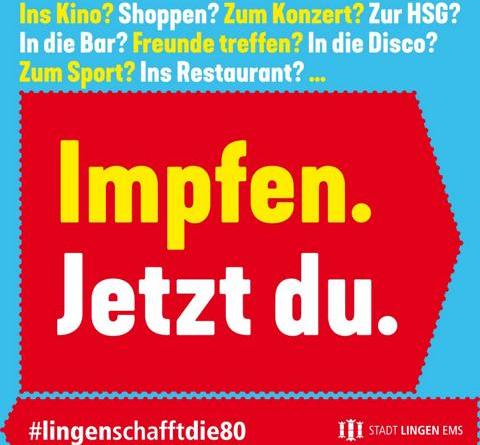 Letzte Chance: Große Impfaktion auf dem Wochenmarkt - Foto: Stadt Lingen