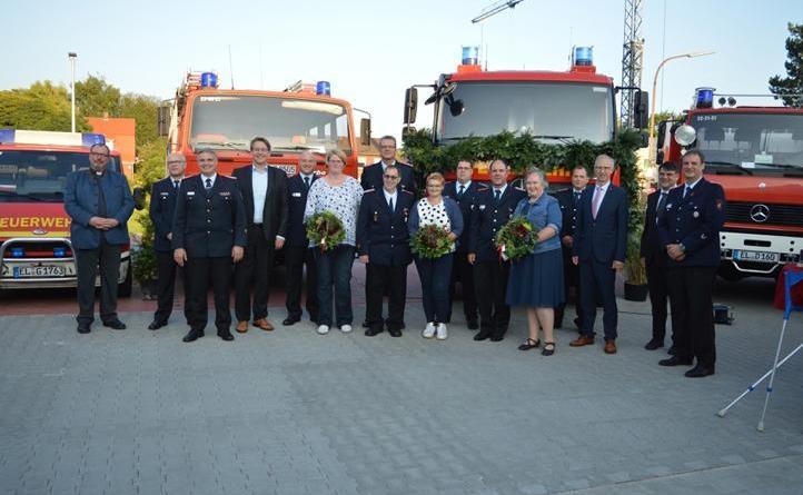 100 Jahre Feuerwehr Osterbrock - Jubiläum, Anbau und neues Fahrzeug – mehr als nur einen Grund zum feiern - Foto: Gemeinde Geeste