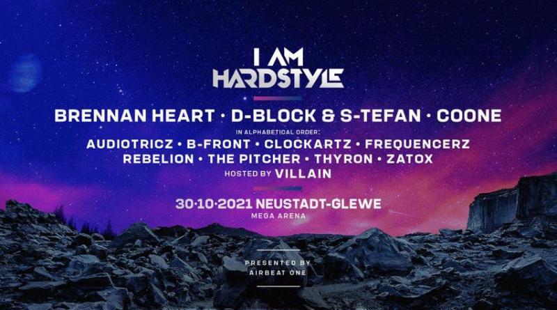 Ein Festival der harten Klänge - AIRBEAT ONE präsentiert das Full Line Up zu I AM HARDSTYLE in Neustadt-Glewe