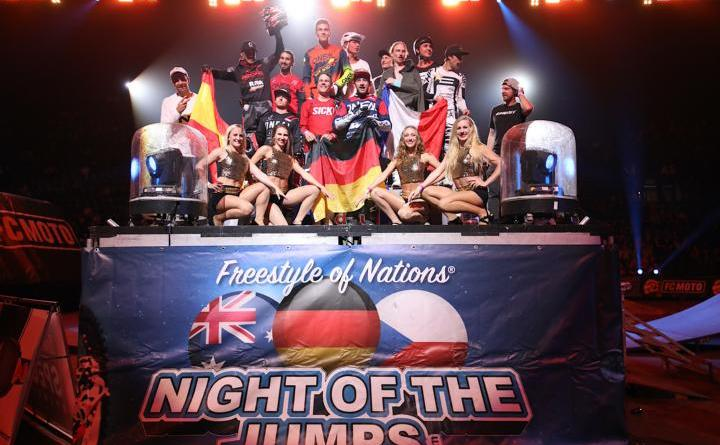 Spektakuläres Comeback der NIGHT of the JUMPs - Team Germany siegt bei der Freestyle of Nations Premiere in der Schweiz