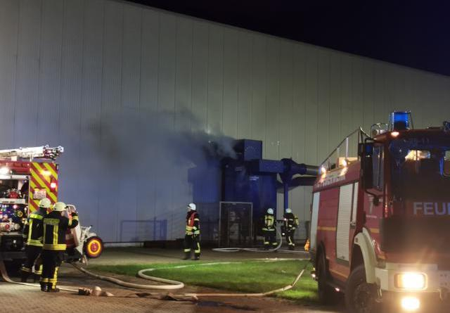 Aktuell: Geeste/Dalum: Brand in der Schachtbaustrasse - Foto: NordNews.de