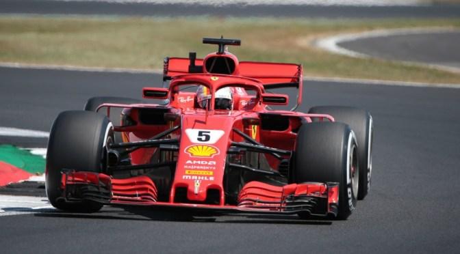 Vettel e Hamilton da cineteca a Silverstone