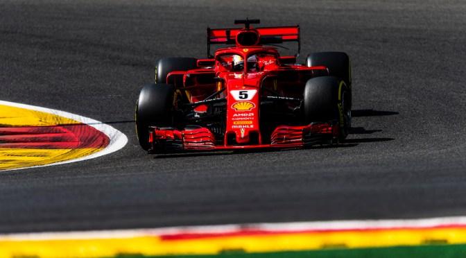 Un tedesco domina con la Ferrari a Spa