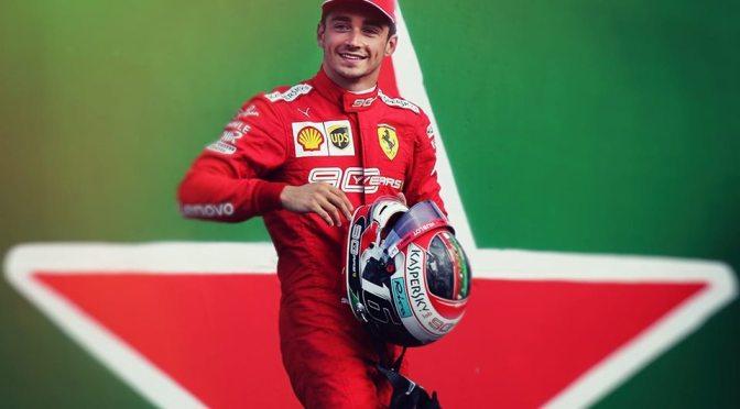 A Monza splende la stella di Charles Leclerc