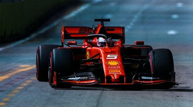 Capolavoro della Ferrari a Singapore