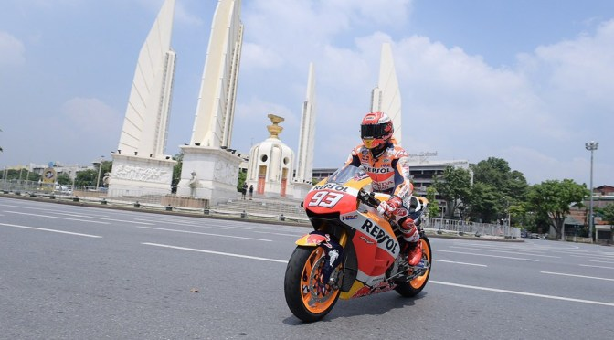 PTT Thailand Grand Prix 2019, match point for Marquez!