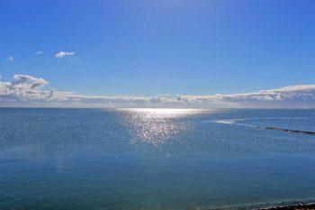 nordsee vor der haustuer