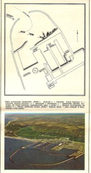 Plan sytuacyjny portu Hanstholm