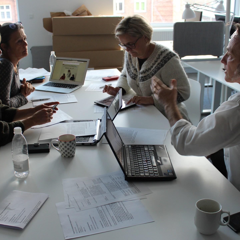 Arbejdsmøde i København