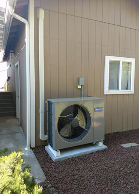 Home heating system in Marysville