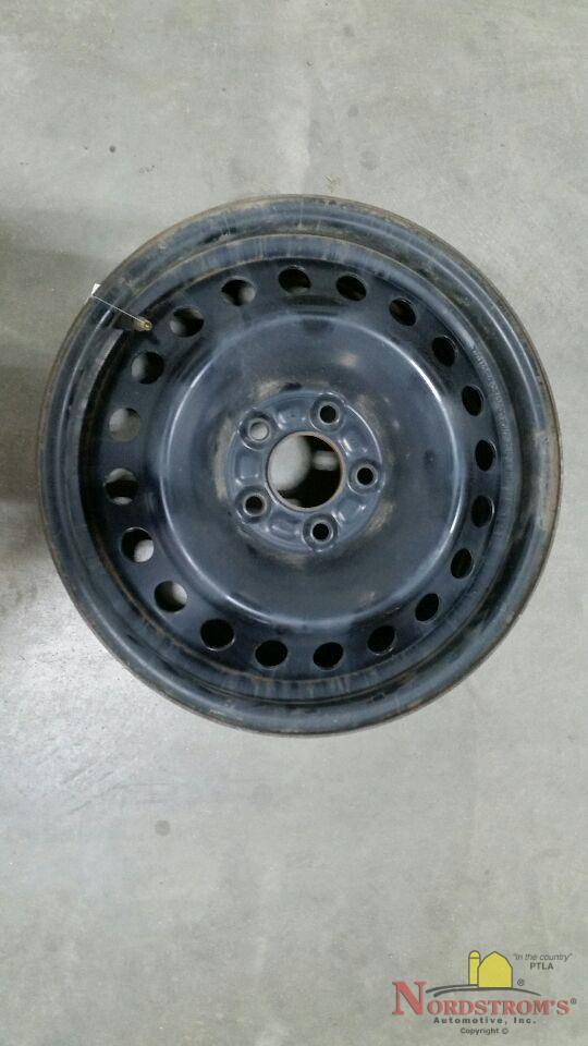 Ford Focus Black Rims : focus, black, Focus, Fusion, 16x6.5, Factory, 5x108mm, Black, Steel, Wheels, Online
