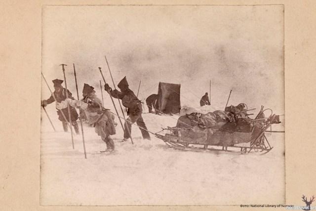 Переход участников экспедиции Нансена через Гренландию