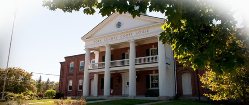 York County Court, Credit York Bar Association