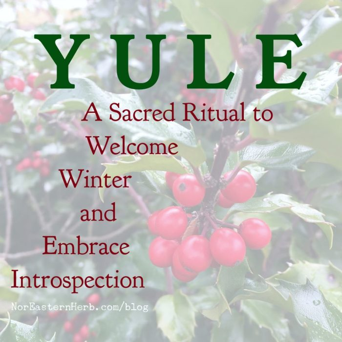 YULE: A Sacred Ritual to Welcome Winter and Embrace Introspection