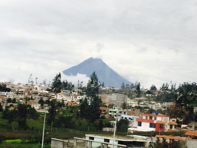 Volcano Tungurahua