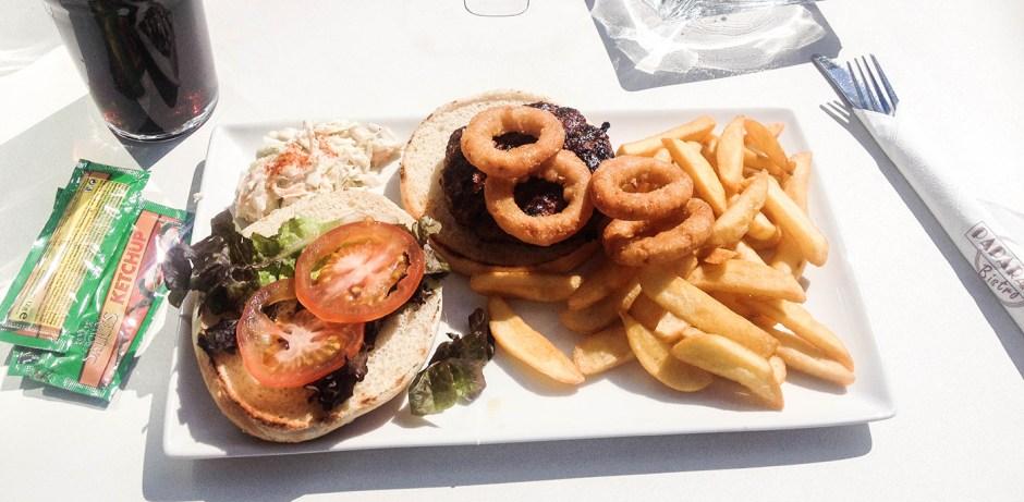 Lunch i Solen