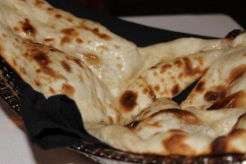 The most delicious naan I have ever had. It was steaming hot when they placed in front of me.