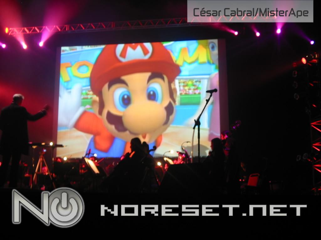 A famosa trilha de de Super Mario Bros agitou os gamers