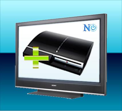 Antes da crise, a Sony fazia promoção de PS3 com a linha de HDTV Bravia