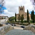 Puente E Iglesia Aranda De Duero
