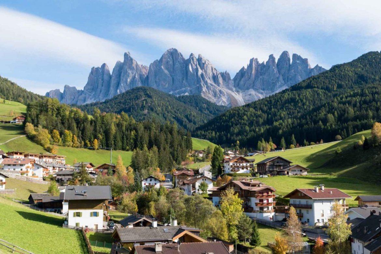 Ruta por Los Dolomitas de Italia