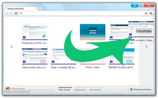 Convertir un acceso directo en una aplicacion con Google Chrome