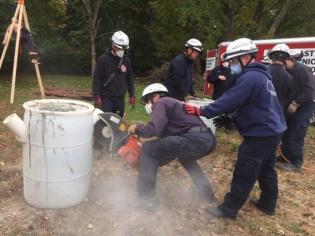 Norfolk County Tech Rescue Team training - 12