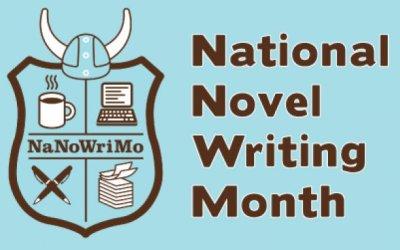 Celebrate National Novel Writing Month
