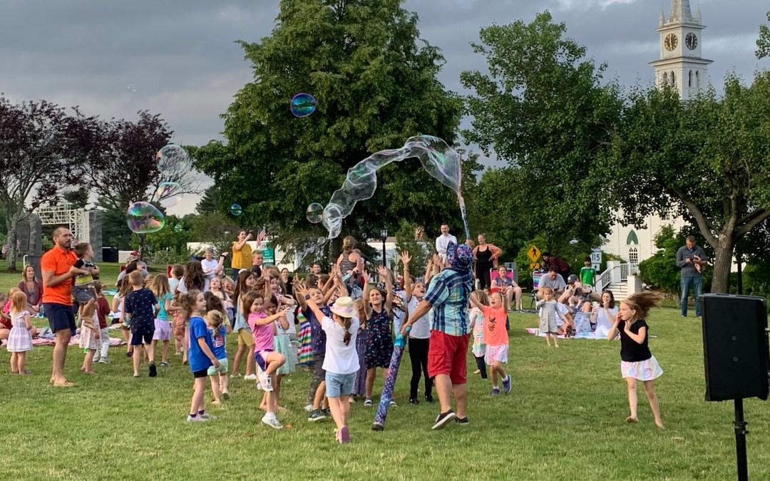Mr. Vinny's Giant Bubble Show