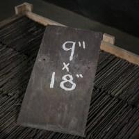 """Reclaimed Roofing Slates Slate Tiles 9"""" x 18"""""""