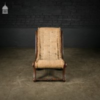 Original Victorian Childs Lounge Chair with Scrolls Ready ...
