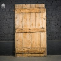 Rustic Ledged Pine Barn Door