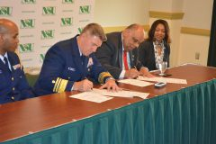 NSU Forges Partnership with Coast Guard