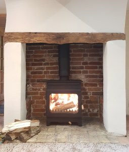 Burley Brampton, wood burner