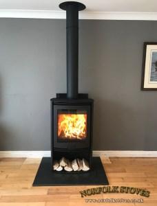 Di Lusso R5 Euro Wood Burner