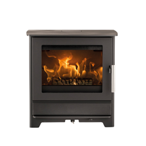 Heta Inspire 45 Multifuel Stove. All Heta stoves are made in Denmark. Excellent design and build quality.