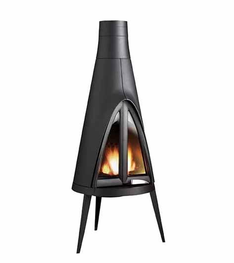 Invicta Tipi Wood Burner 10kw Nominal Heat