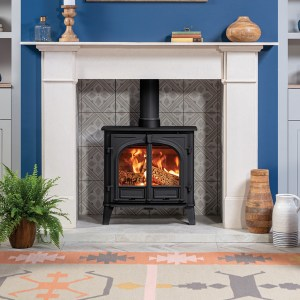 Image of Stockton 8 wood and multifuel stove