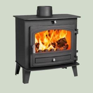 Image of Hunter Avalon 5 slimline wood and multifuel stove