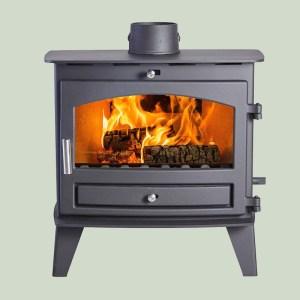 Image of Hunter Avalon 8 slimline wood and multifuel stove