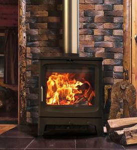 Image of Saltfire Bignut wood burning stove