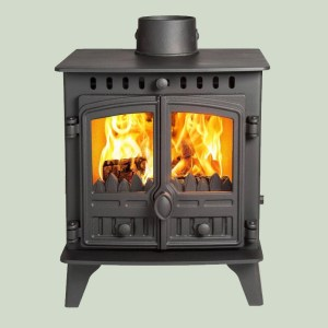 Image of Hunter Herald 4 wood and multifuel stove