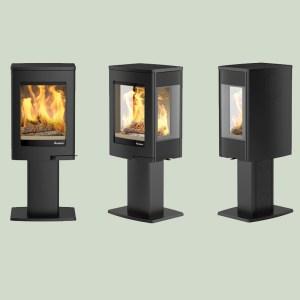 Image of Nordpeis Uno 1 wood burning stove