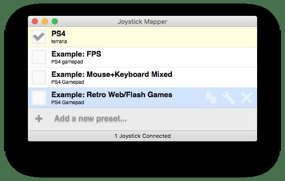 Joystick Mapper 6