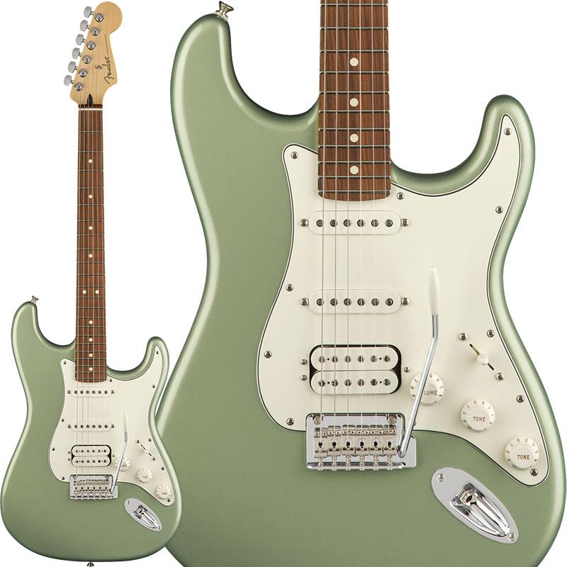 伝統を重んじながら革新的なスピリットを維持する、フェンダーからの新提案「Player Series」入荷開始!コチラは、サージ・グリーン・メタリック・カラーにHSSピックアップ配列を採用!Fender Player Stratocaster HSS (Sage Green Metallic/Pau Ferro)>