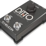 サウンドハウスが一番安い マイク用ルーパーの「TC HELICON ( ティーシーヘリコン ) / Ditto Mic Looper」が欲しいっていう話!