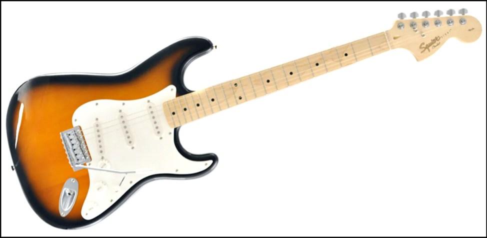 SQUIER ( スクワイヤ ) / Affinity Stratocaster ストラトキャスター squier affinityのギターが安くてカッコイイ!初心者にオススメのギター!!【スクワイヤ】