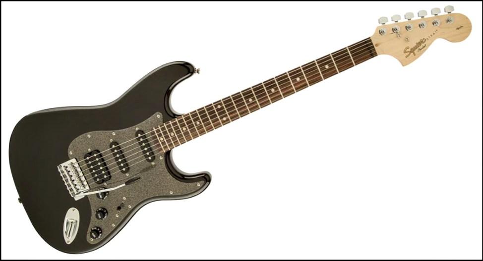 SQUIER ( スクワイヤ ) / Affinity Stratocaster HSS Montego Black Metallicが安くてカッコイイ! SQUIER ( スクワイヤ ) / Affinity Series Stratocaster HSS が安くてカッコイイ! squier affinityのギターが安くてカッコイイ!初心者にオススメのギター!!【スクワイヤ】