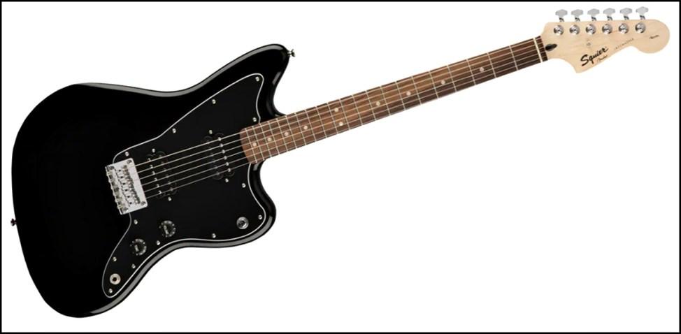 SQUIER ( スクワイヤ ) / Affinity JazzMaster HH Laurel Blackが安くてカッコイイ! squier affinityのギターが安くてカッコイイ!初心者にオススメのギター!!【スクワイヤ】