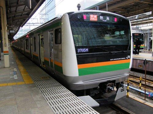 上野駅の「快速アクティー」乗り場は何番線ホーム?